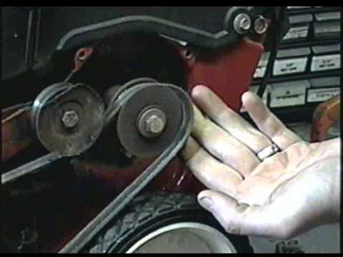 mtd yard machine parts diagram mr2 3sgte wiring how to replace the belt on machines single stage snowblower - youtube