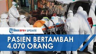 UPDATE COVID-19 di Indonesia Hari Ini 24 Oktober Tambah 4.070 dalam Sehari, 4.119 Pasien Sembuh