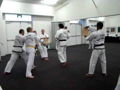 Rhee-Taekwondo 2nd Dan Grading
