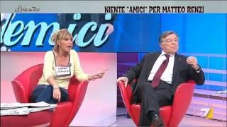 Zanonato: 'Zanzarona!', Mussolini: 'Sei vecchio!'