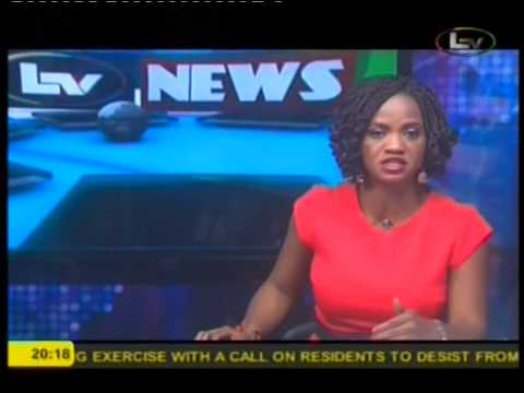 The News at 8 on Lagos Television 140715.