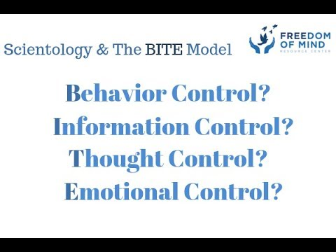 Scientology and The BITE Model - Freedom of Mind Resource Center