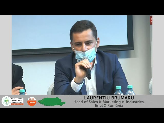 Laurențiu Brumaru - Head of Sales & Marketing e Industries, Enel X România