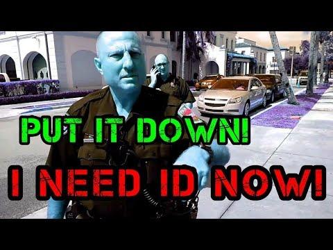 Palm Beach PD First Amendment Audit (ID Now)