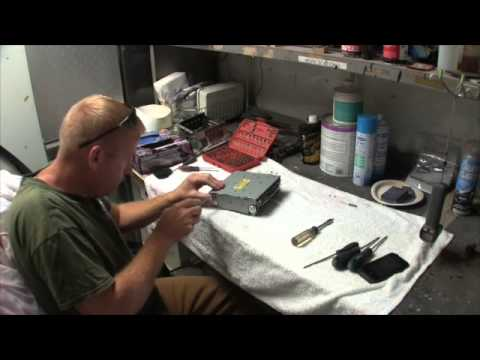 Repairing My Cd Changer In The Ford Super Duty