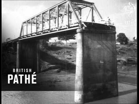 Australia - Flood Areas Clean Up  (1954)
