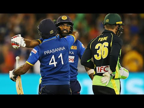 From The Vault: Sri Lanka Win A Last-ball T20 Thriller At The MCG