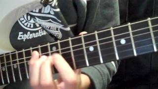 Bloodlust Of The Human Condition - Unearth Guitar Cover
