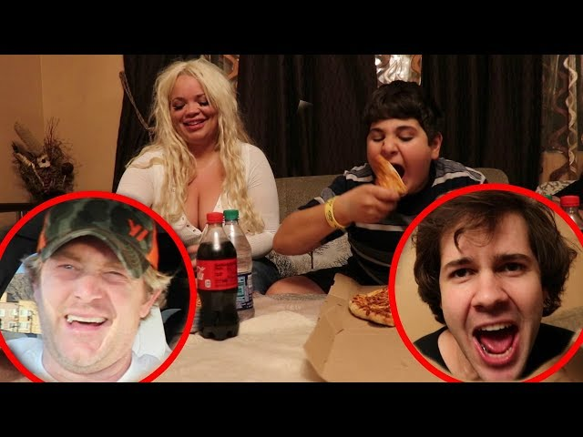 PIZZA EATING CONTEST GONE WRONG!!