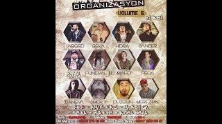 ''K4 Organizasyon Vol.6'' M-Key G. Haf*cktir Live Performance #HipHopKarakolu