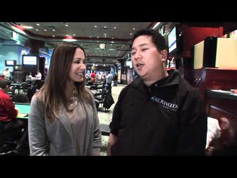 Bernard Lee on Day 2 of the Foxwoods World Poker Finals