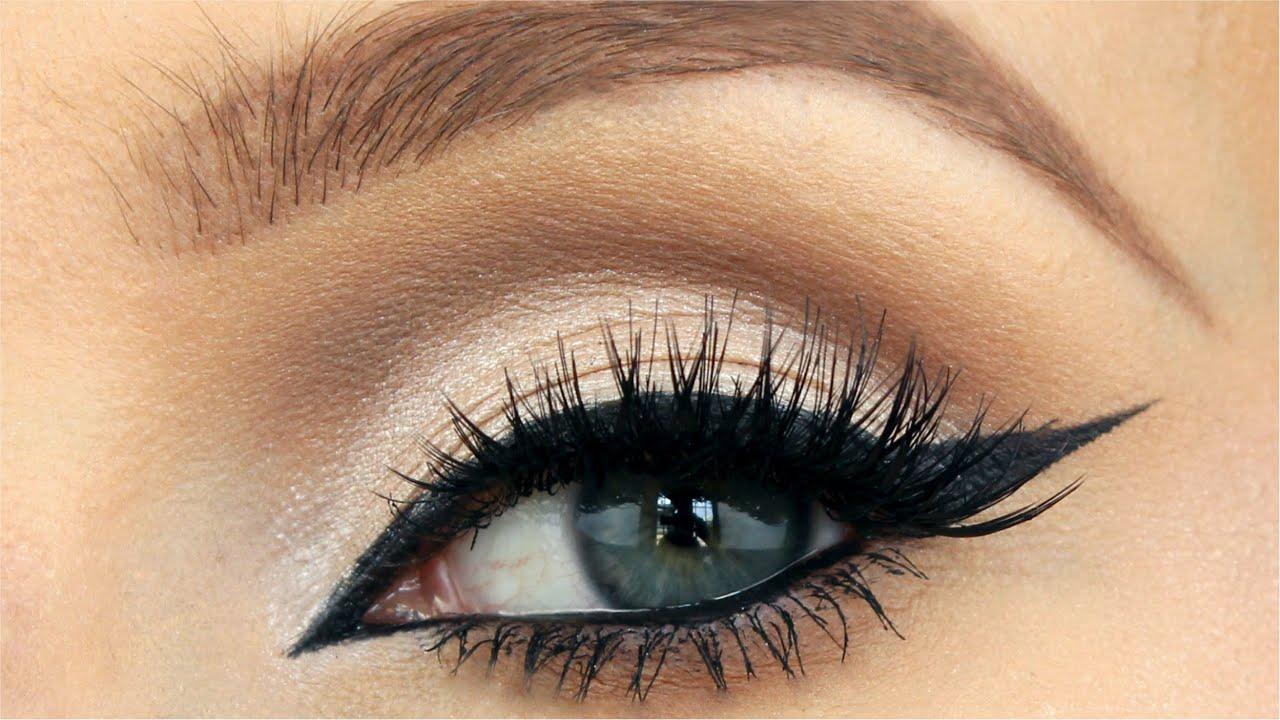 Cat Eyes Makeup Tutorial Youtube