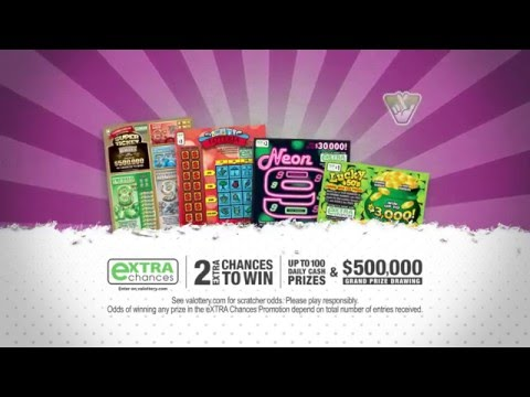 Michigan Lottery Second Chance Prizes
