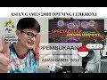 BEAUTIFUL INDONESIA  Cuplikan Kemeriahan Opening Ceremony Asian Games 2018    JANGReacts