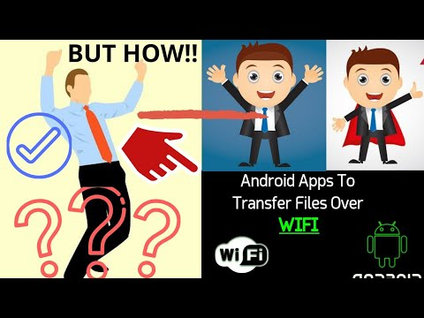 10 Best Android Apps To Transfer Files Over Wifi With High Speed!! How To Transfer Files Over Wi-Fi.