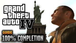 GTA 4 - 100% Completion Guide [Key to the City Achievement / Trophy] (1080p)