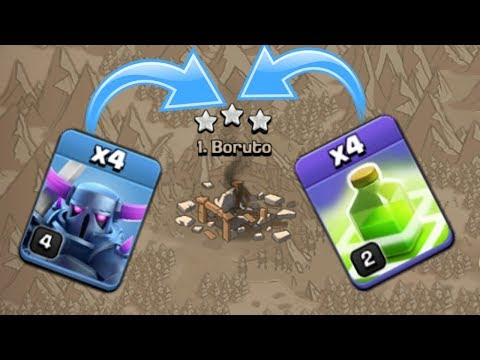 4 PEKKA + 4 JUMP SPELL Insane Th9 War Attack Strategy - Clash Of Clans