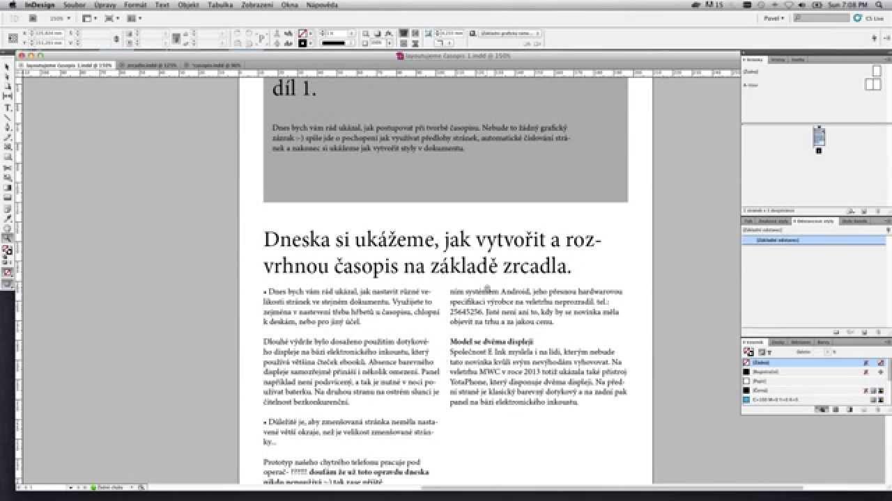 Adobe photoshop cs5 tiene sk. Cz [psdtutorialy] youtube.