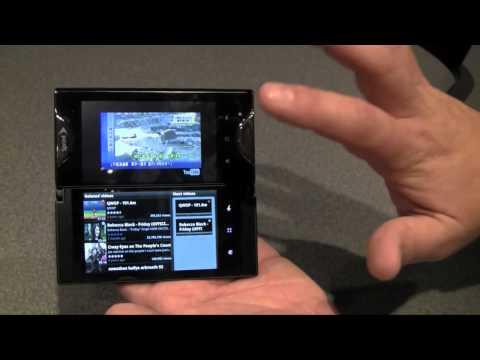 CTIA 2011: Up close with Kyocera Echo dual-screen smartphone