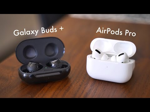 Samsung Galaxy Buds+ (Plus) - Review & Vergleich Mit Apple AirPods Pro (Deutsch) | SwagTab