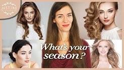 What's your season? | Seasonal color analysis | Justine Leconte