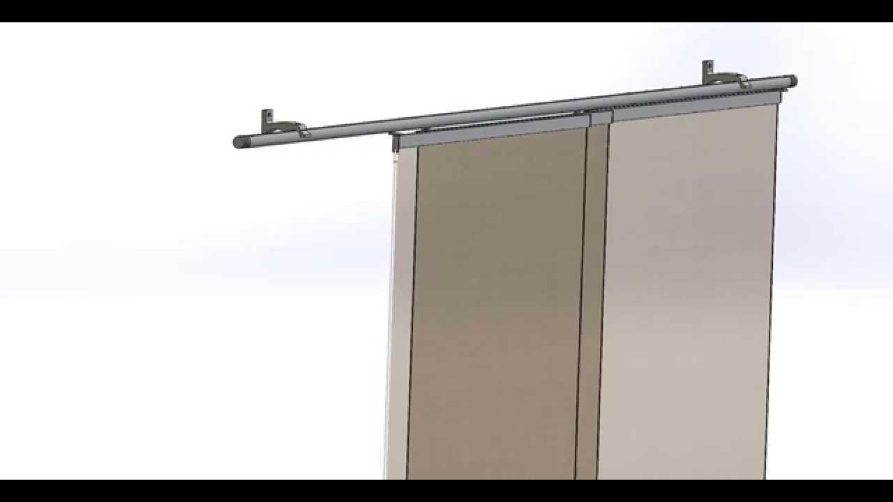 kit rail panneaux japonais blanc 3