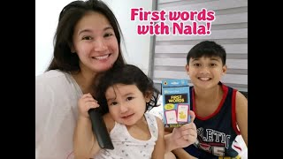 First Words With Nala! | Camille Prats