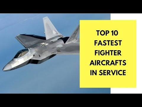 Top 10 Fastest Military Airplanes in Service (2017)