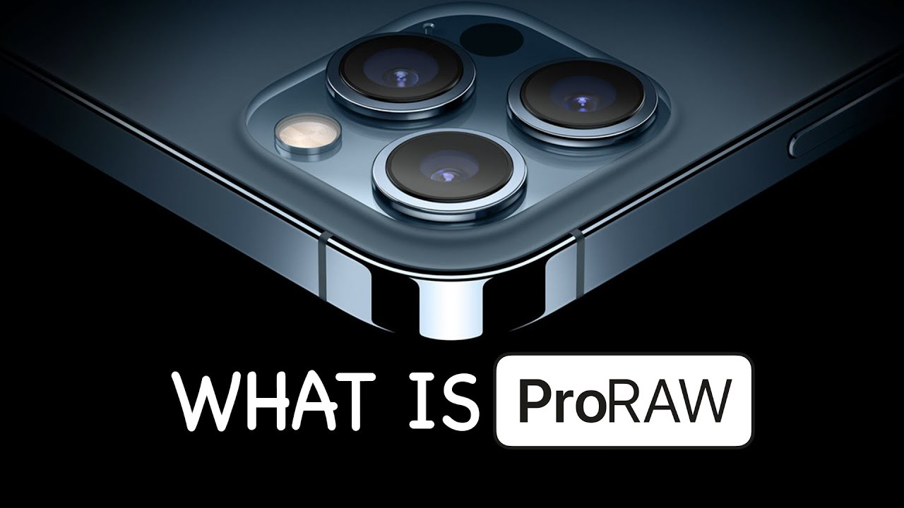 What is Apple ProRAW? Lets Talk About it. - YouTube