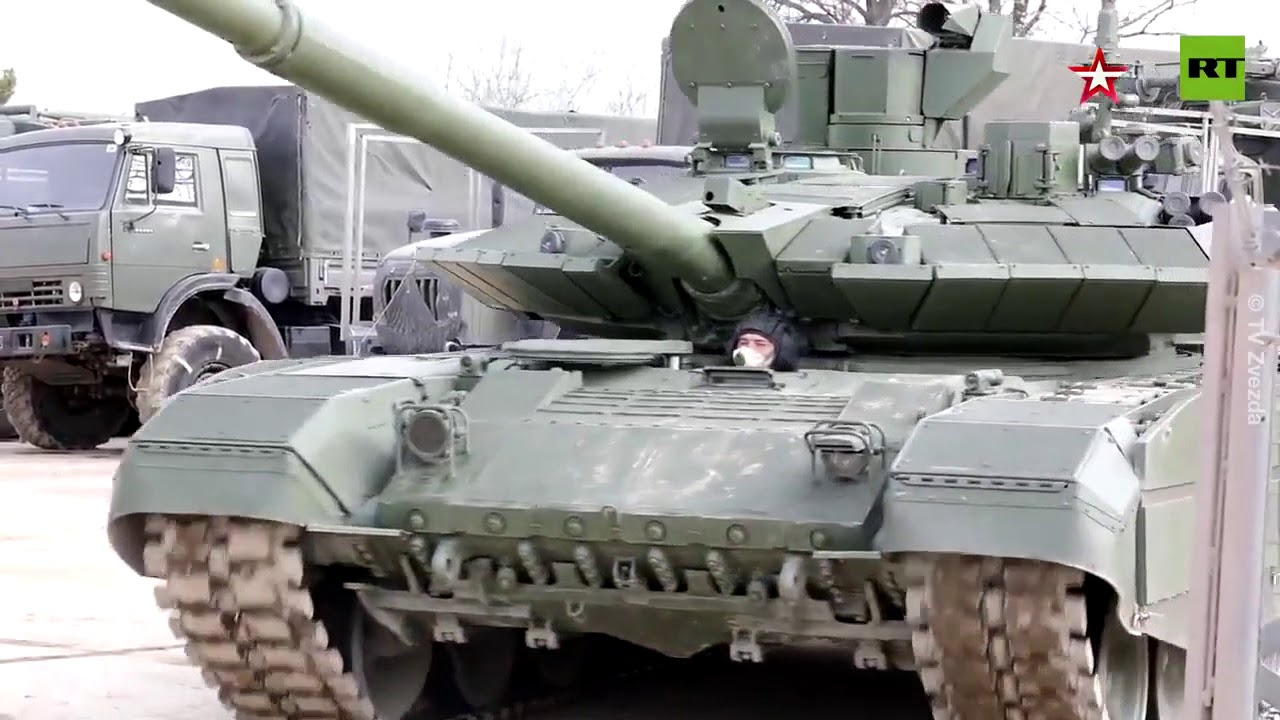 'Breakthrough' T-90M tanks | New Russian machines speak for themselves - YouTube