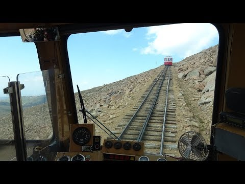 Pikes Peak Cog Railway – Driver's Eye View – Part 1 – The Long Climb