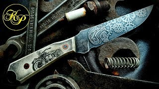 Knife from an old tool knife