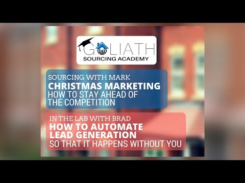 Ep15: Christmas Marketing–Stay Ahead Of The Competition; Automate Lead Gen So It Happens W/out You