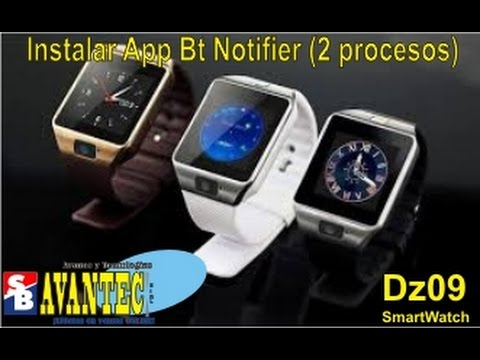 how to download apps on dz09 smartwatch