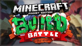 MCPE 0.15.1 BUILD BATTLES!! - Minecraft Pocket Edition Build Wars Games (Pocket Edition)