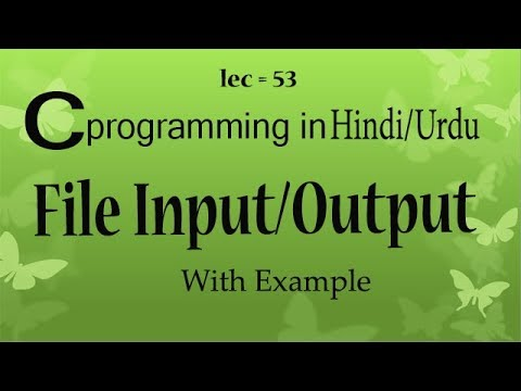 input output file operation ,file handling and error handling with example