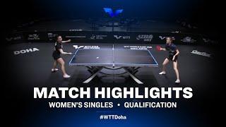 Natalia Grigelova vs Anastassiya Lavrova | WTT Star Contender Doha 2021 | WS | QUAL Highlights
