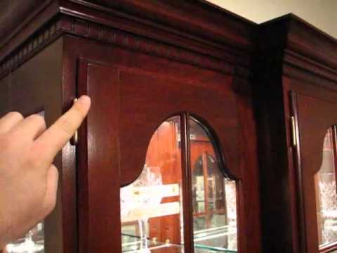 Colonial Furniture China Lights Dimming Hinge  YouTube