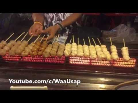 Street Food | Fresh Cook Fast Food | Bangkok Thailand | Night Life and Foods