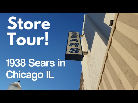 STORE TOUR: Amazing 1938 Sears at Six Corners in Chicago IL