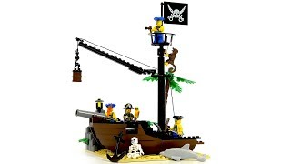 Enlighten brick pirates series 306 scrap dock