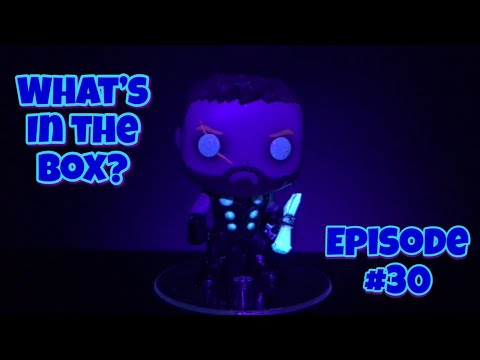 GOD OF THUNDER | What's In The Box # 30 | Asia SF Exclusive GITD Thor Pop! Vinyl