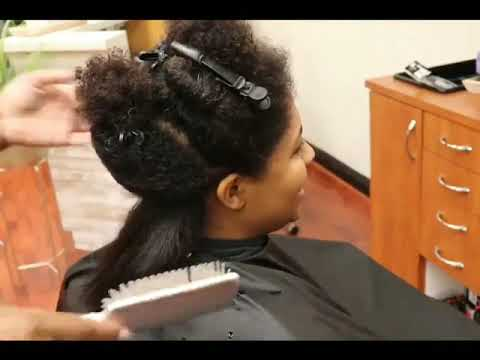 Is Silky Press An Alternative to A Relaxer?