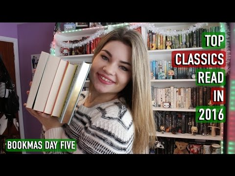 Top 5 Classics I Read in 2016 | Bookmas Day 5