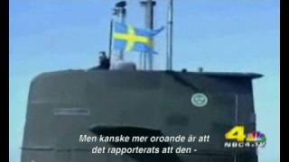 HMS Gotland on NBC Swedish Submarine (Swedish Subtitle)