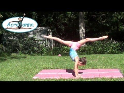 acroanna annie age 11 gymnastics meet