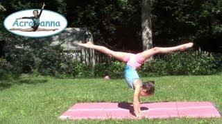 Tick Tock Challenge | Annie the Gymnast | Gymnastics Tips | Acroanna