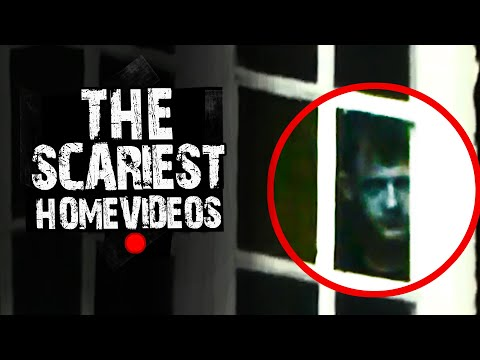 Mysterious Faces Caught On Video