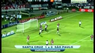 Santa Cruz 1x0 São Paulo - Copa do Brasil 2011: 2ªFase - HQ ► blog.futvideos.org