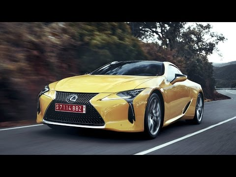 2018 Lexus LC 500 LC 500h First Look